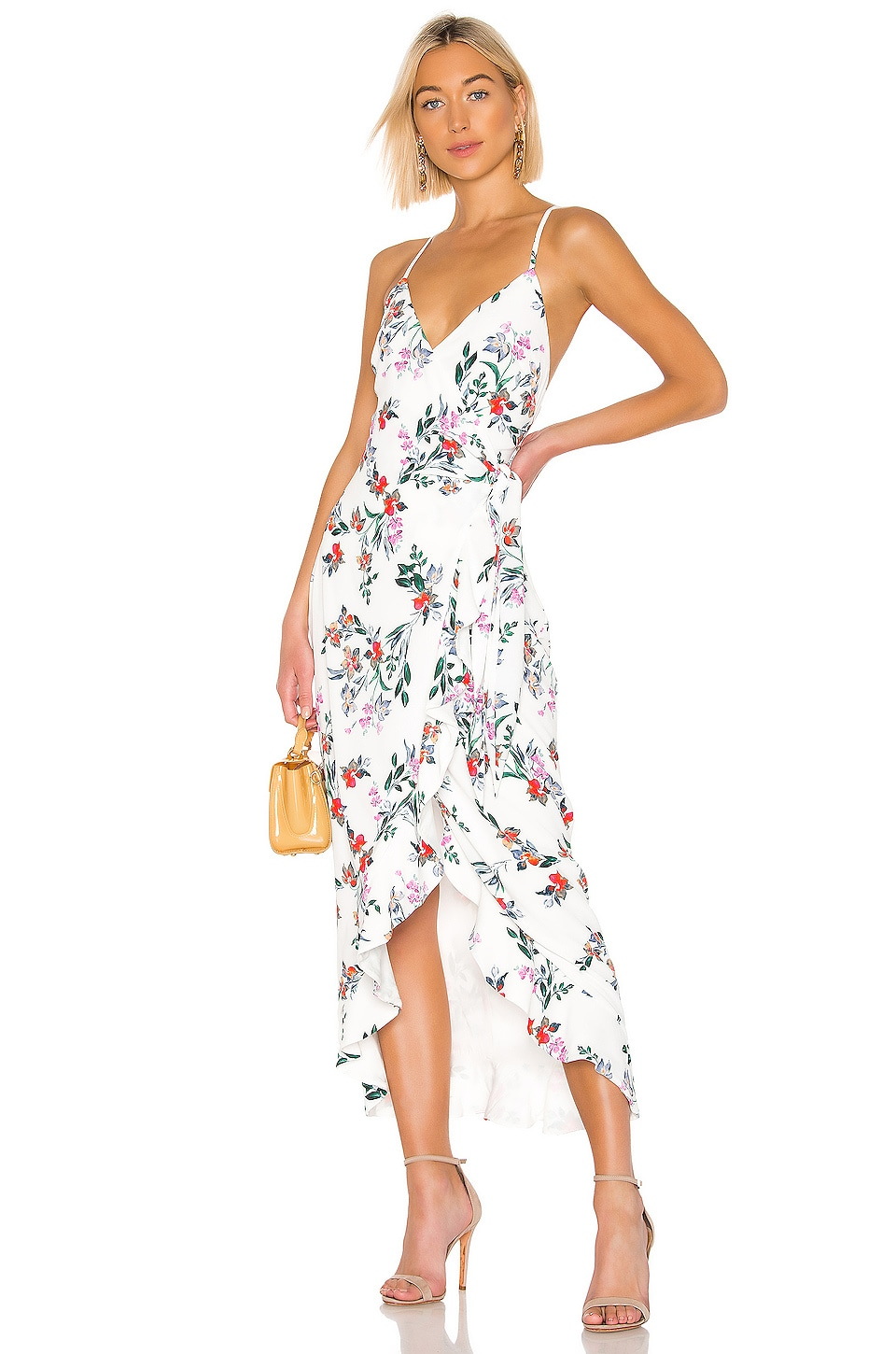 THE JETSET DIARIES Flowers In Your Hair Maxi Dress in Flowers In Your Hair