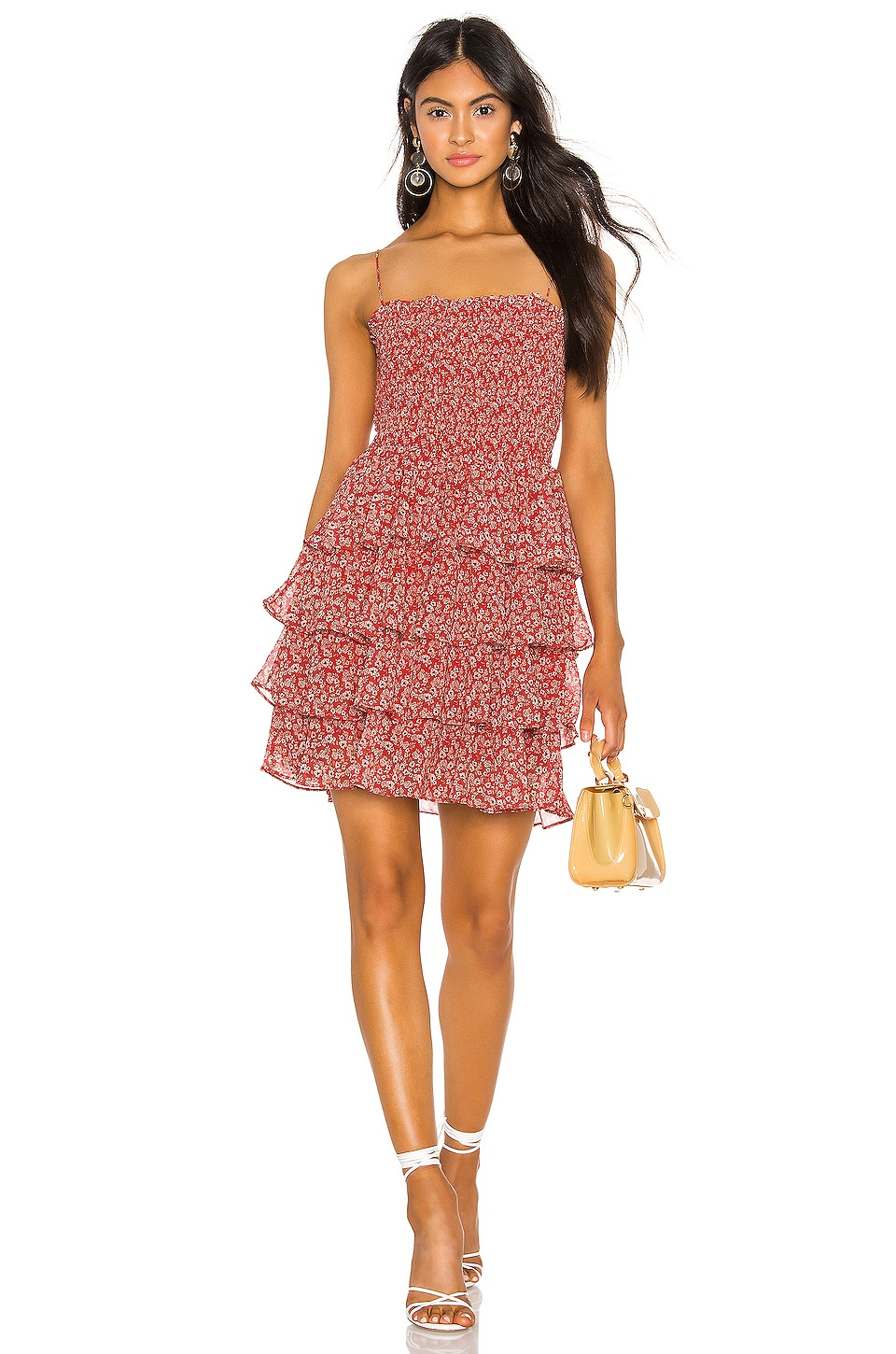 THE JETSET DIARIES Love Is In the Air Mini Dress in Love Is In the Air Ditzy Print