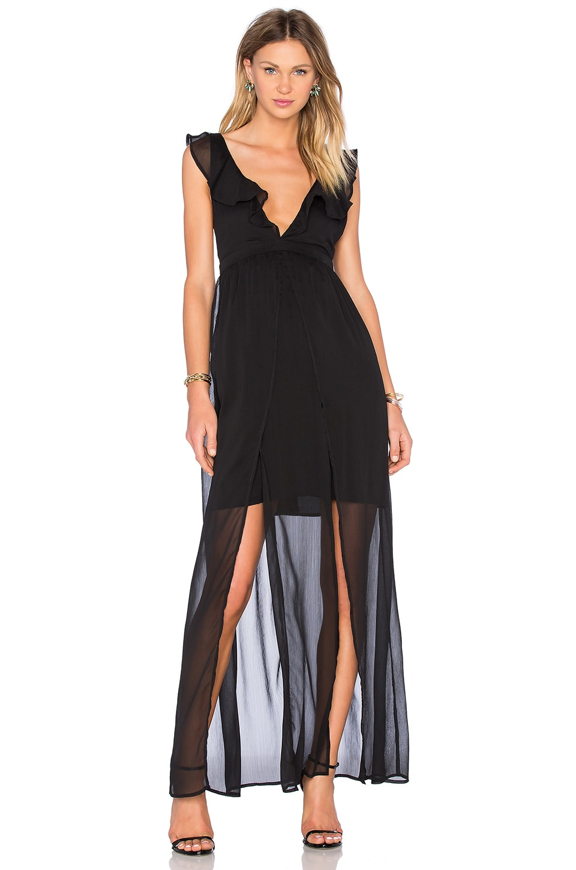 The Jetset Diaries Tan Lines Maxi Dress At Gilt