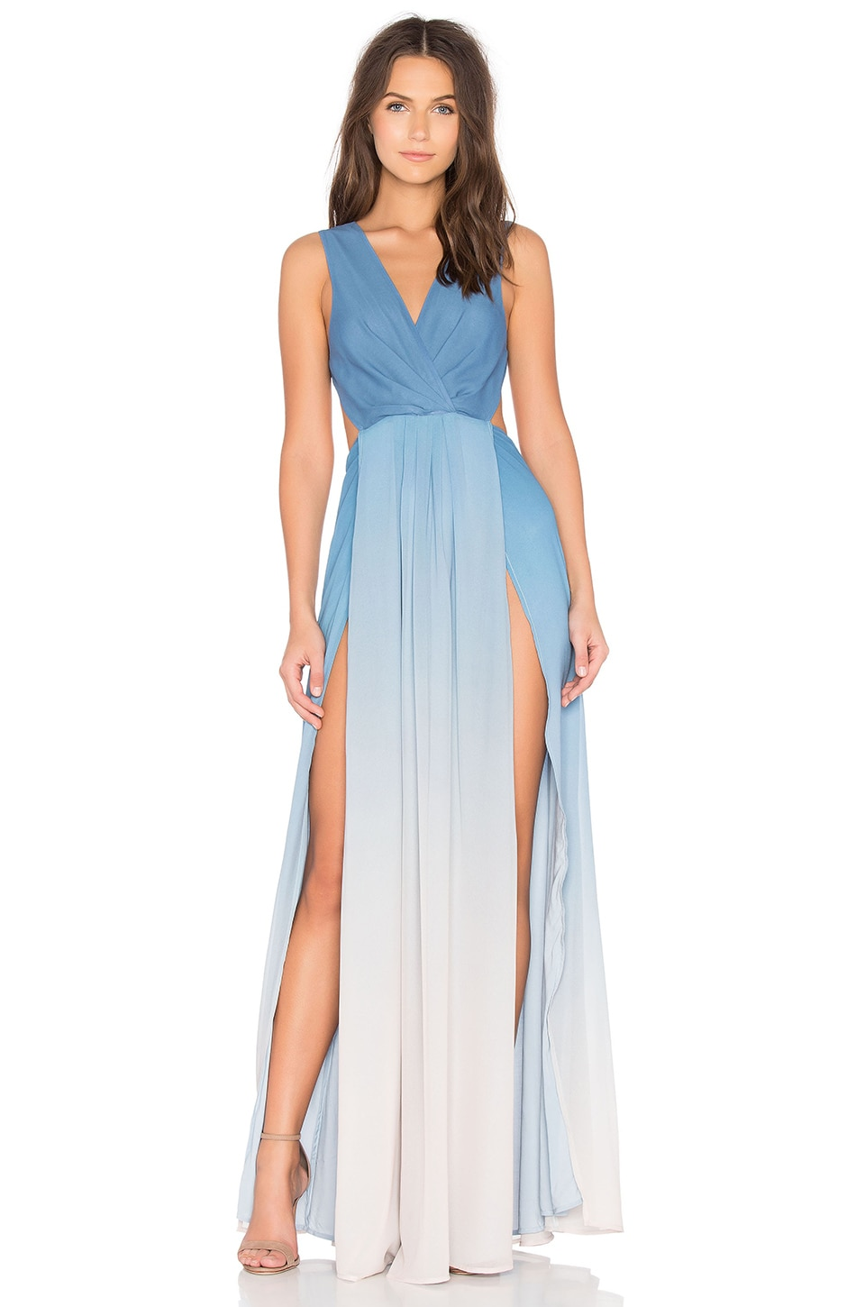 THE JETSET DIARIES x Revolve Caribbean Ombre Maxi Dress in Blue ...