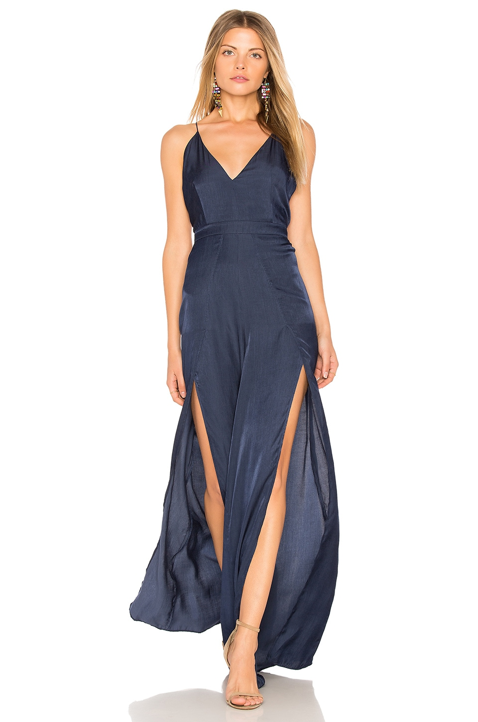 THE JETSET DIARIES Galadriel Jumpsuit in Marine