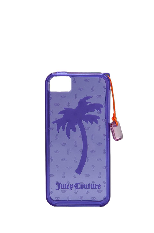 Juicy Couture Gelli iPhone 5 Case in Electric Purple