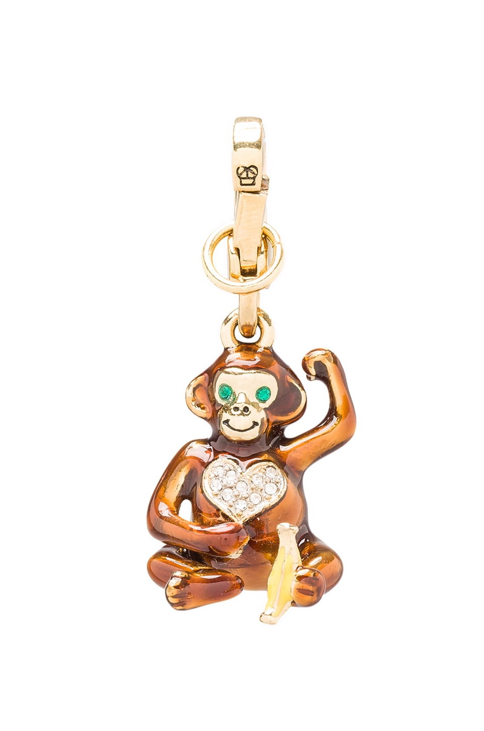 Juicy Couture Monkey Charm in Gold
