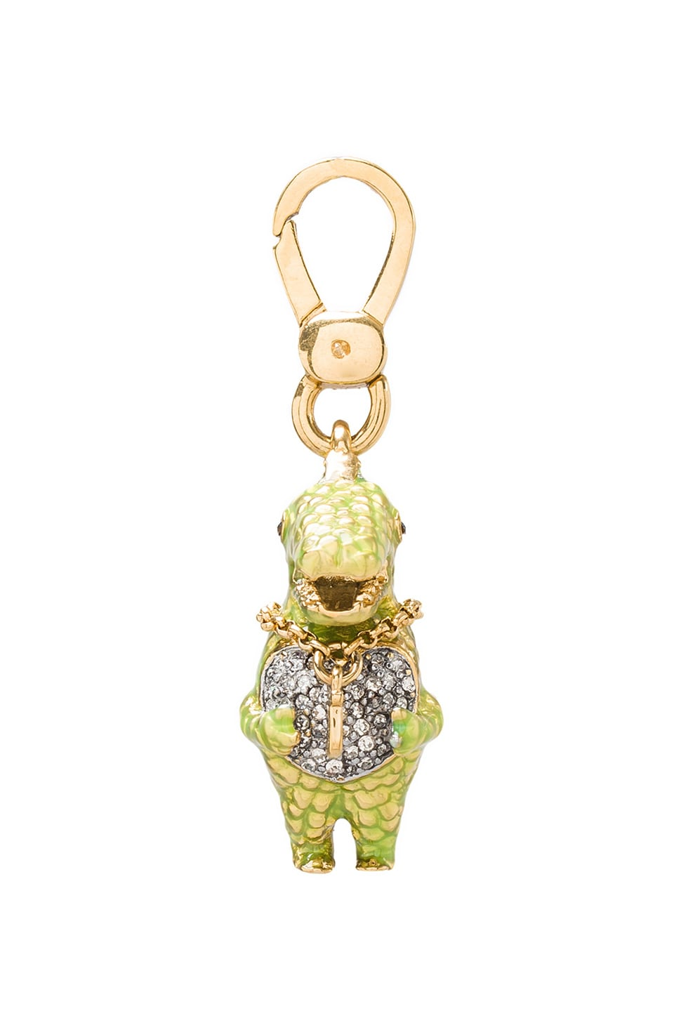 Juicy Couture Dinosaur Charm in Gold