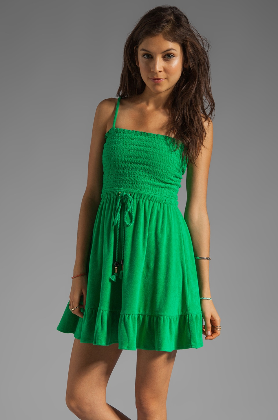 Juicy Couture Terry Dress in Lily Pad
