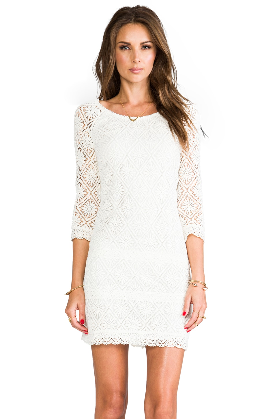 Juicy Couture Grace Dress in Angel