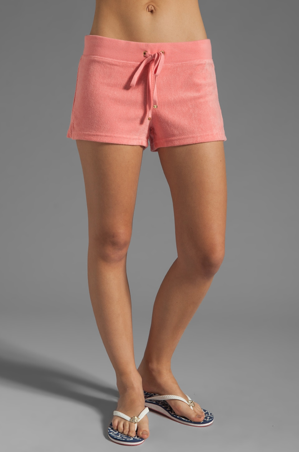 Juicy Couture Terry Public Short in Bubblegum