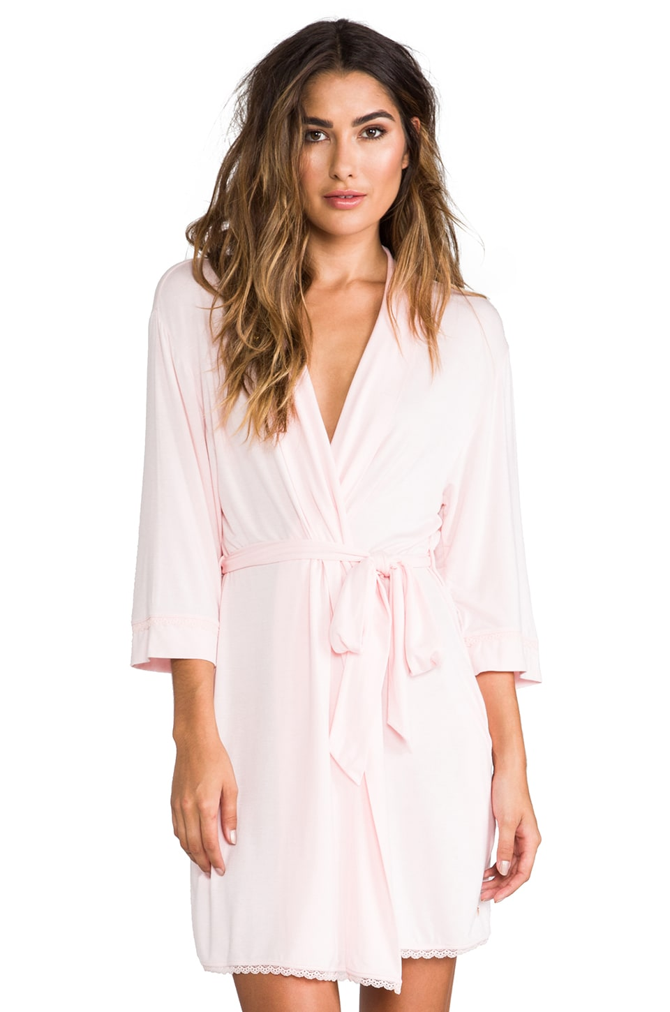 Juicy Couture Robe in Petal Pink