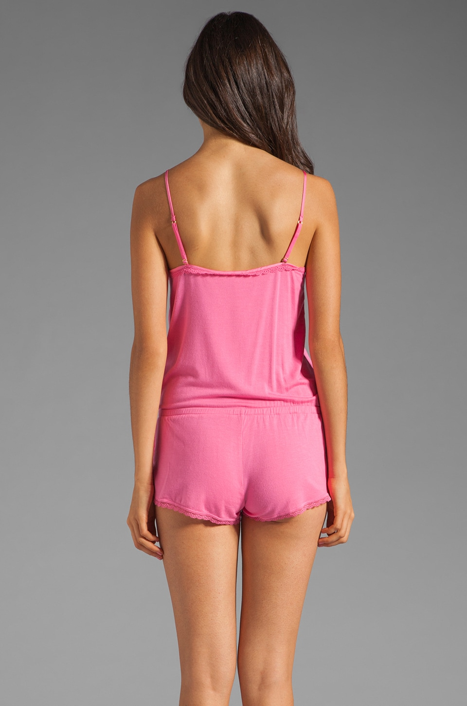 Juicy Couture Romper in Light Helium Pink