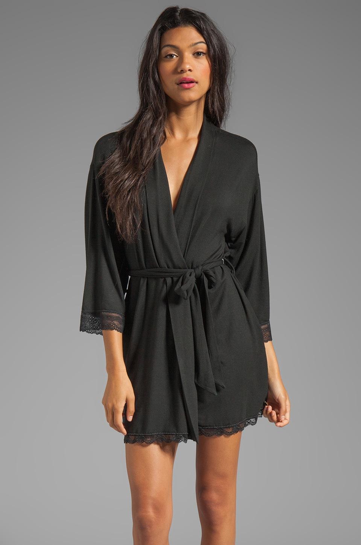 Juicy Couture Sleep Essential Robe in Black
