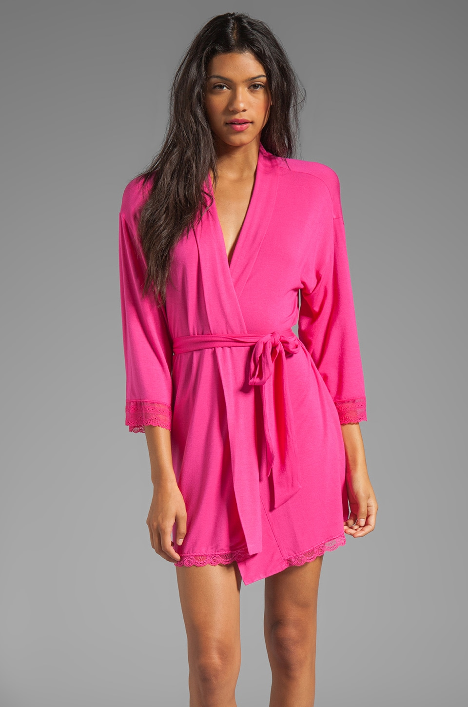 Juicy Couture Sleep Essential Robe in Lychee