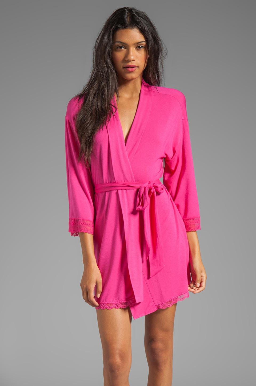Juicy Couture Sleep Essential Robe in Lychee