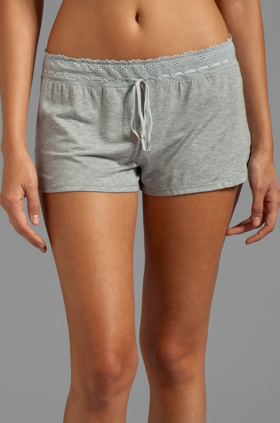 Juicy Couture Sleep Essential Short in Heather Cozy