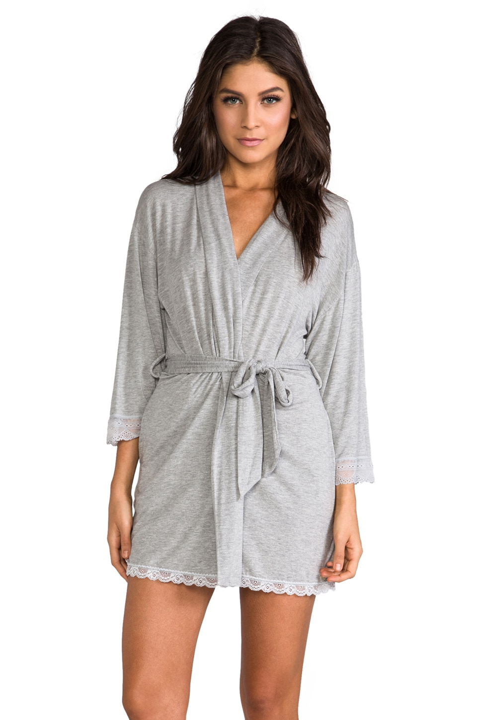 Juicy Couture Sleep Essential Robe in Heather Cozy