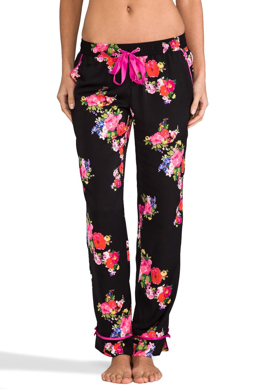 Juicy Couture Jazzy Floral PJ Pant in Black & Jazzy Floral