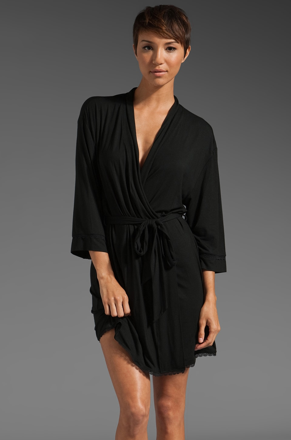 Juicy Couture Robe in Black