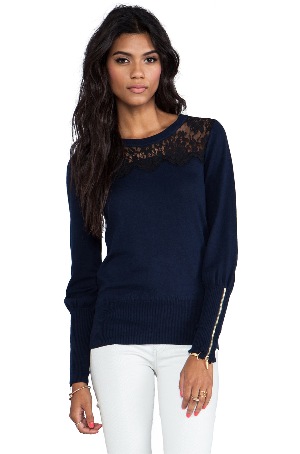Juicy Couture Nicola Pullover in Regal