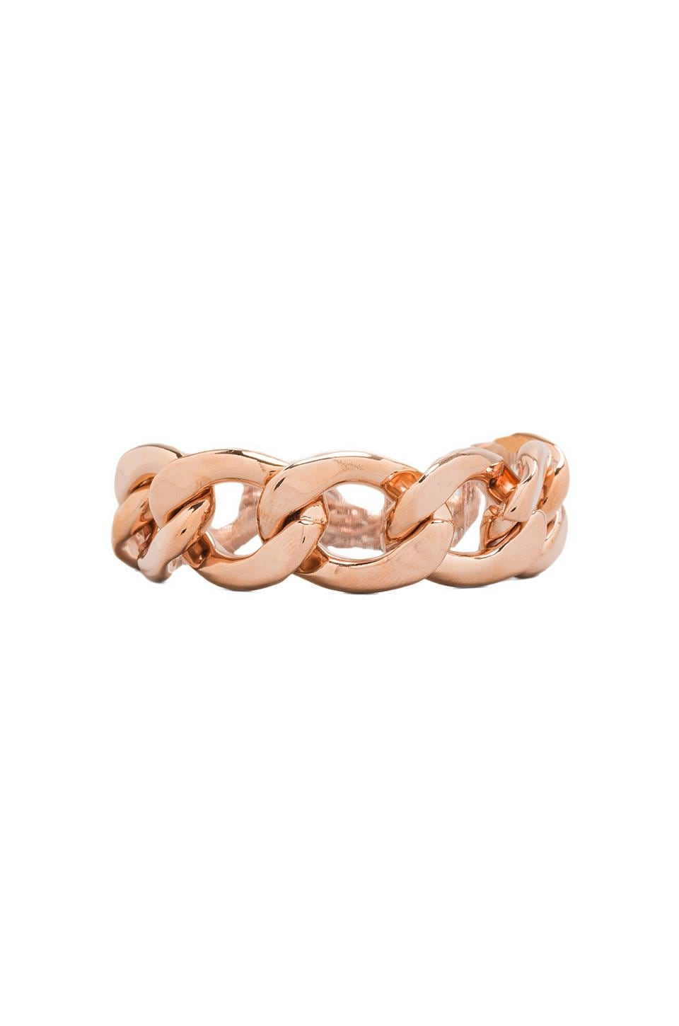Juicy Couture Luxe Link Bracelet in Rose Gold