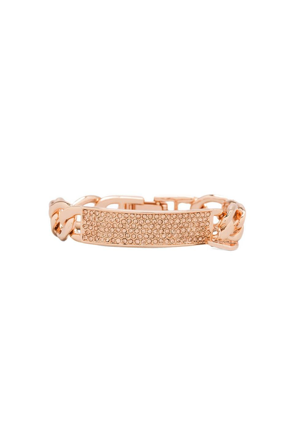 Juicy Couture Juicy ID Bracelet in Rose Gold