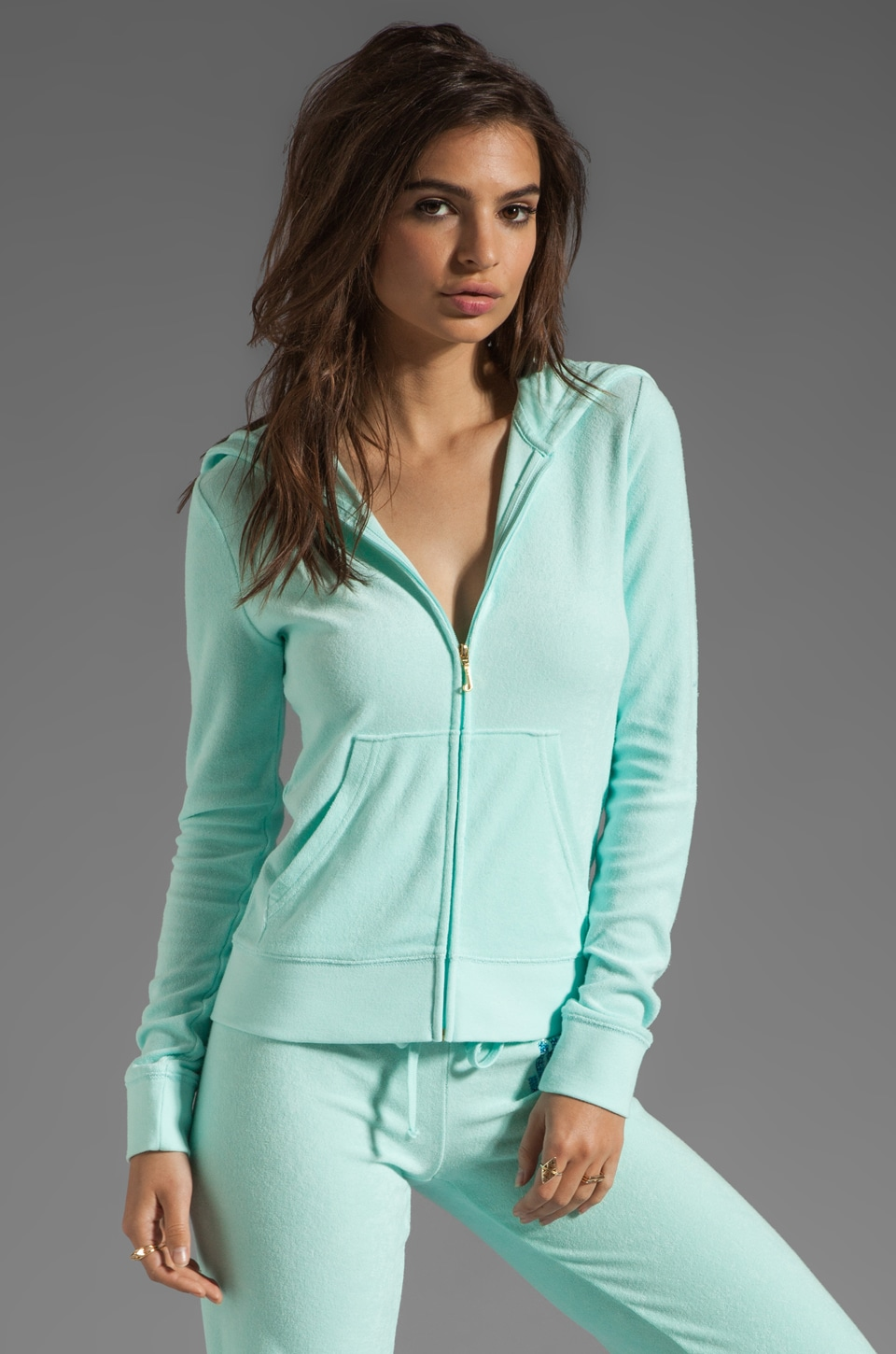 Juicy Couture Terry Original Hoodie in Monroe