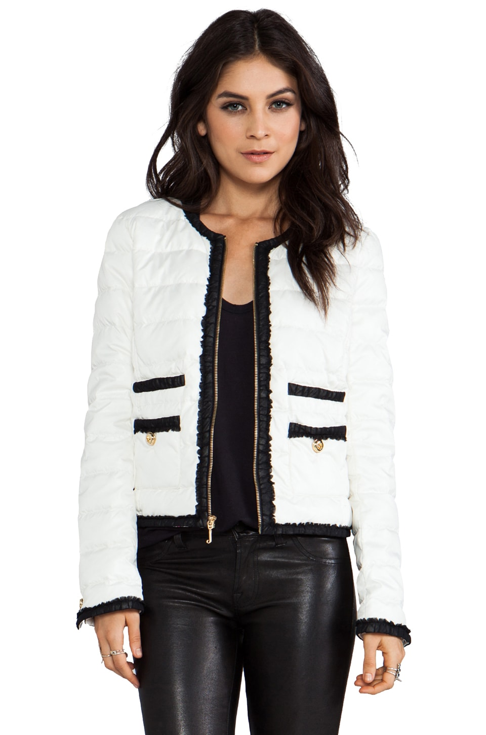 Juicy Couture Quinn Puffer in Angel
