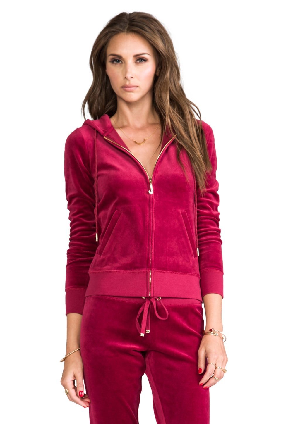 Juicy Couture J Bling Hoodie in Well-Coiffed