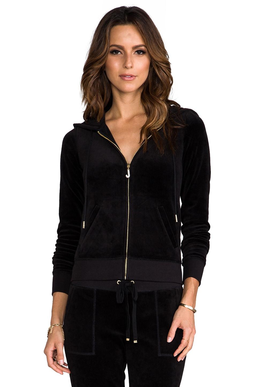 Juicy Couture J Bling Hoodie in Black