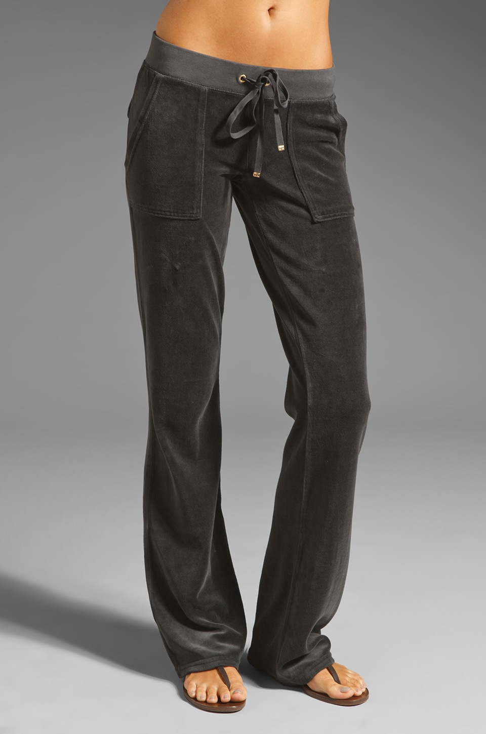 Juicy Couture Bootcut Pant in Top Hat