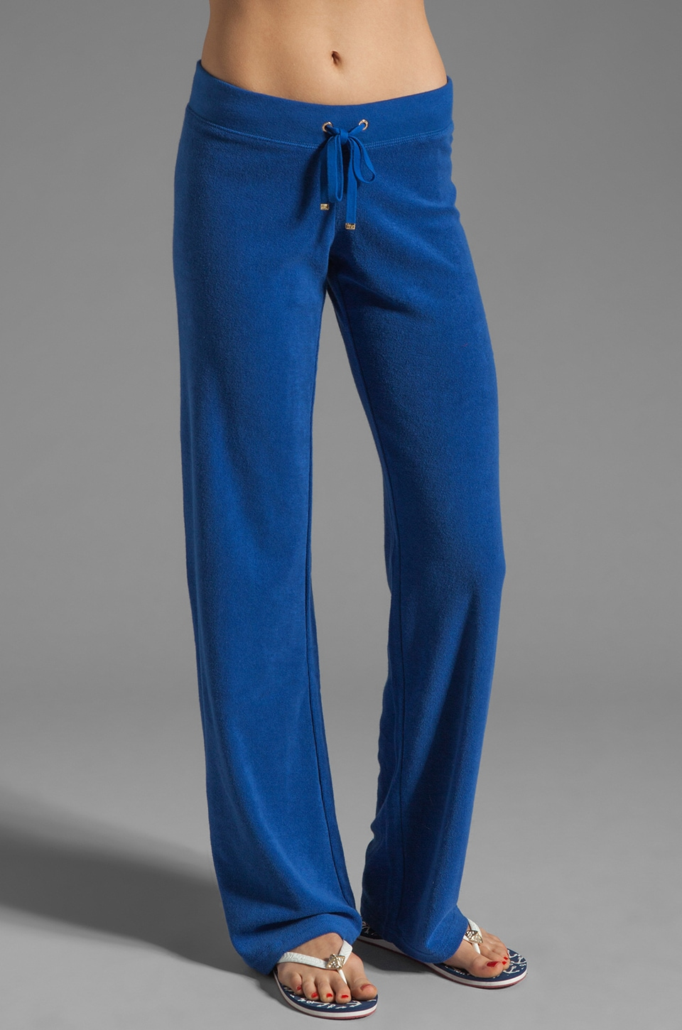 Juicy Couture Terry Original Leg Pant in Zuma