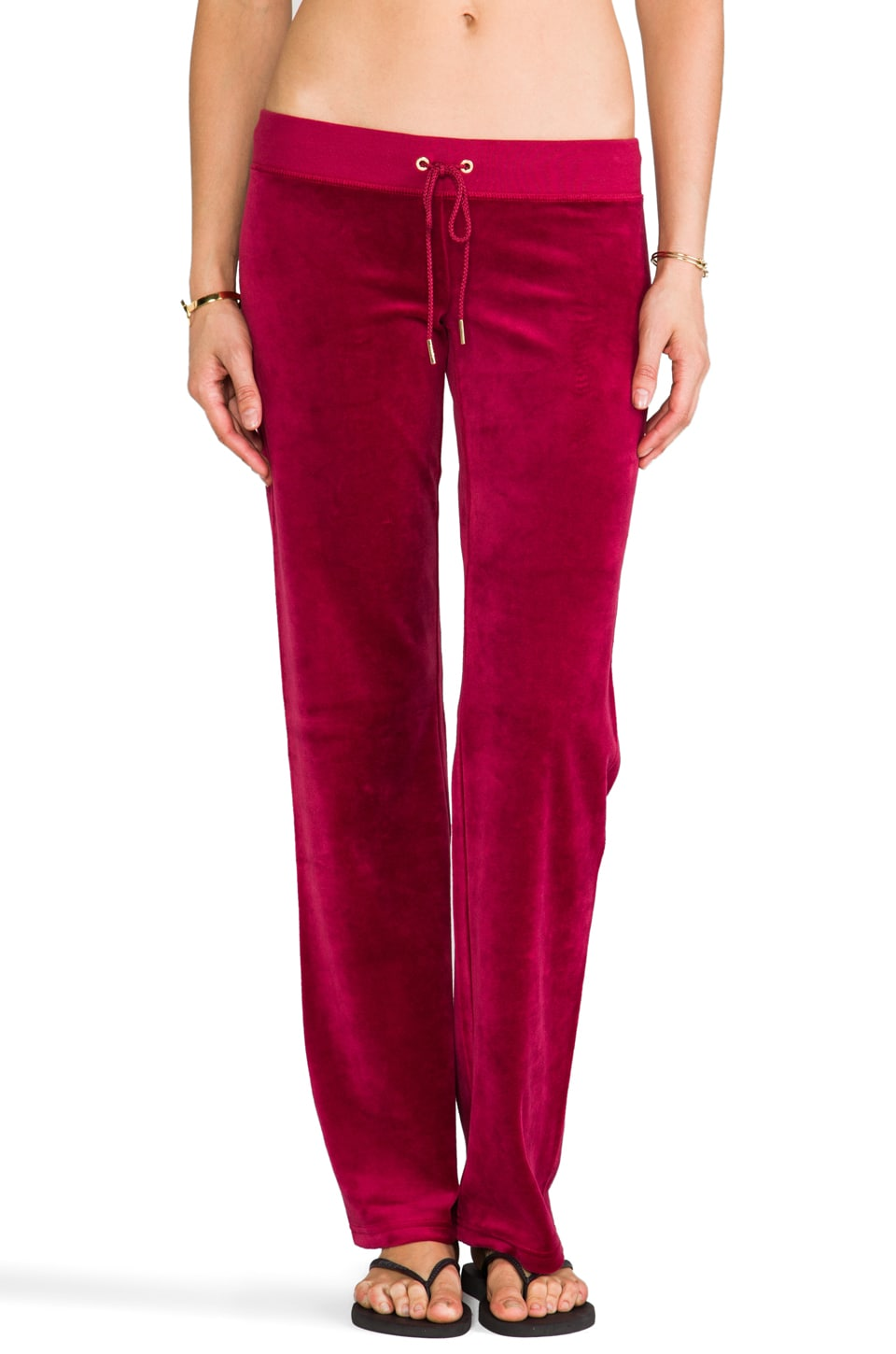 Juicy Couture J Bling Original Leg Pant in Well-Coiffed