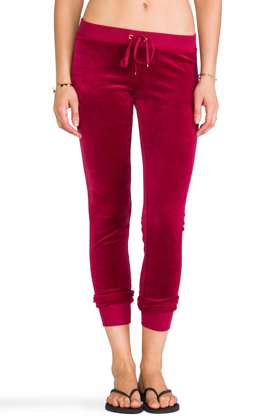 Juicy Couture J Bling Slim Comfy Pant in Well-Coiffed