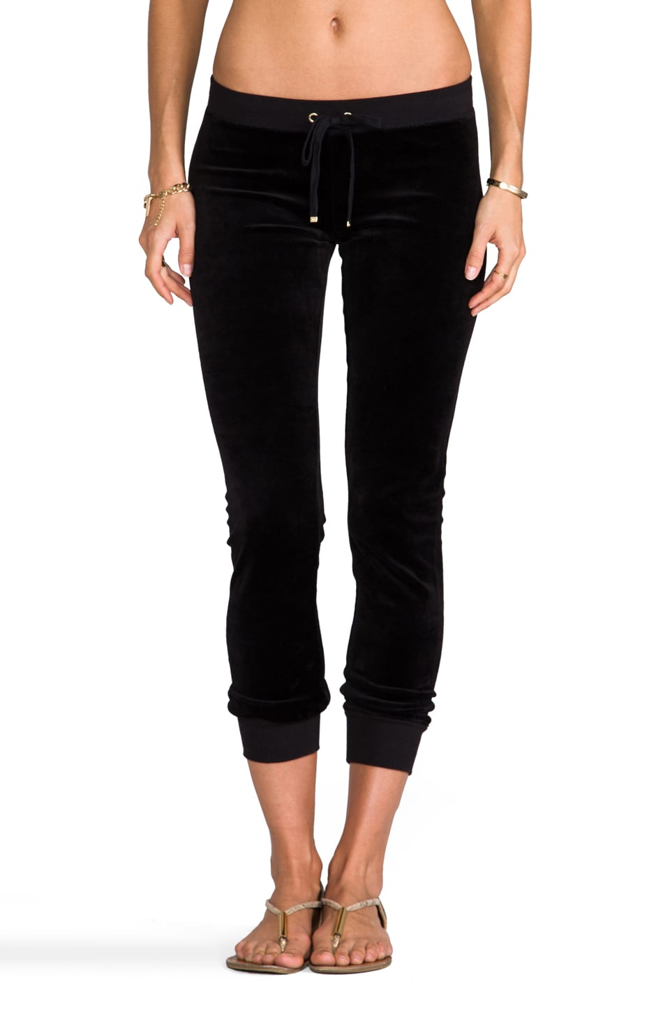 Juicy Couture Modern Track Pant in Black
