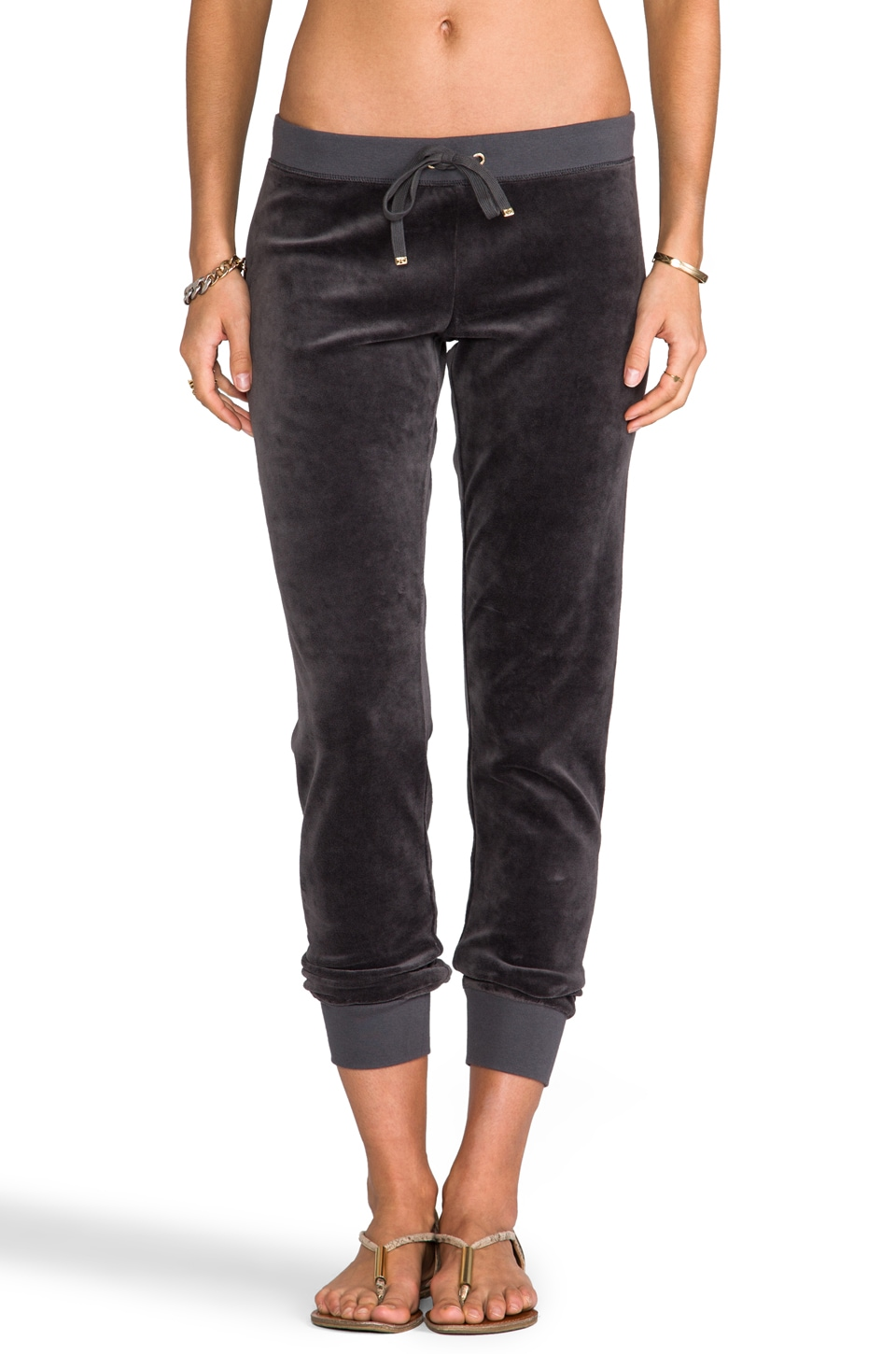 Juicy Couture Modern Track Pant in Top Hat