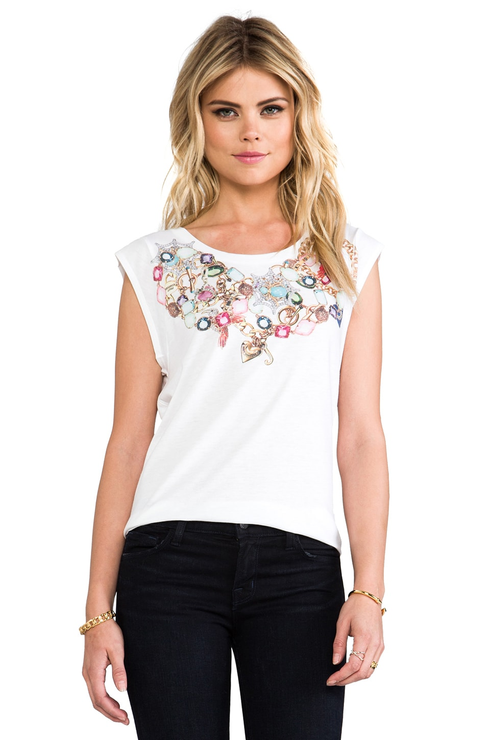 Juicy Couture Jewel Print in White