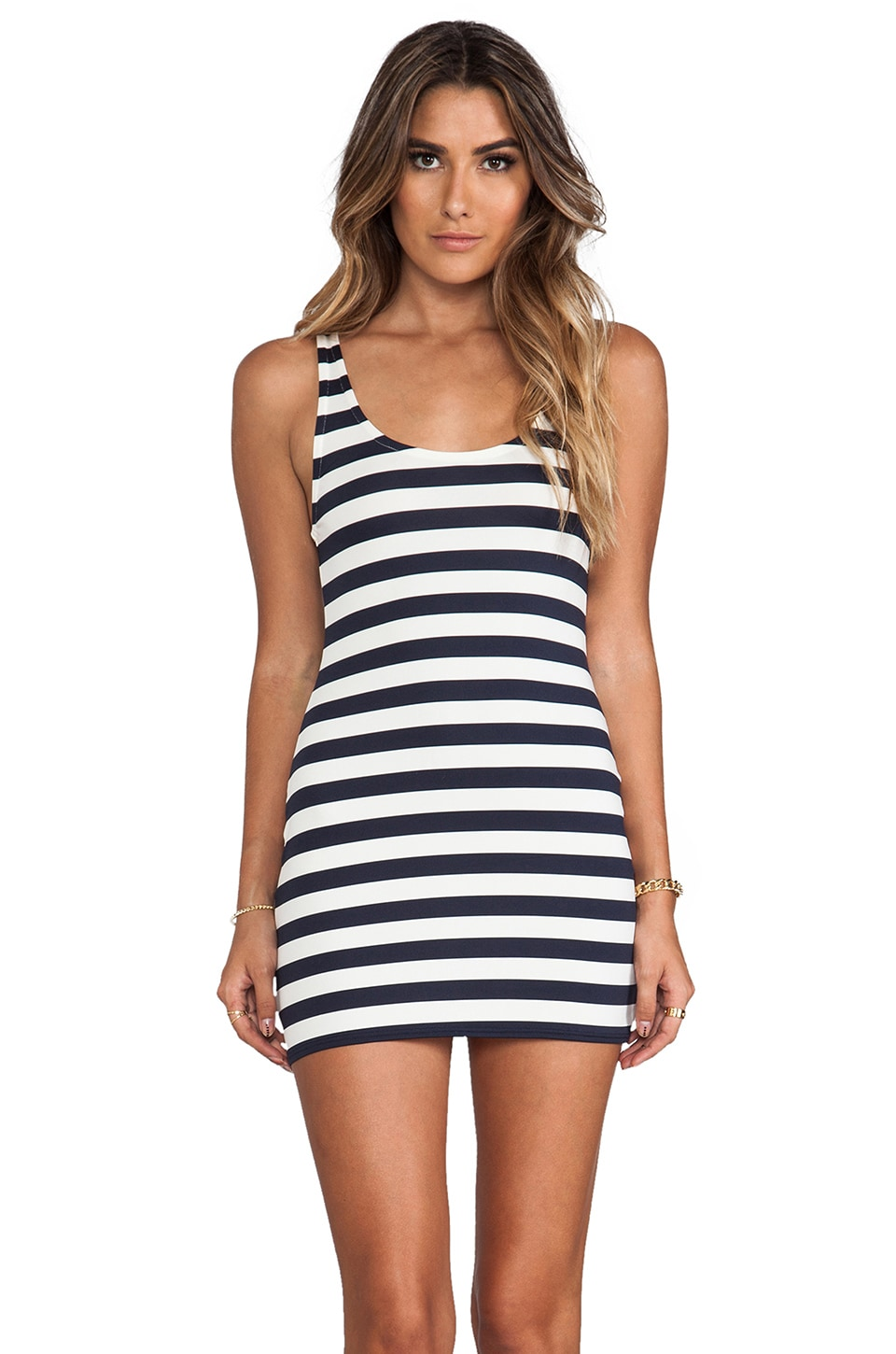 Juicy Couture Boho Stripe Cover Up Dress in Regal