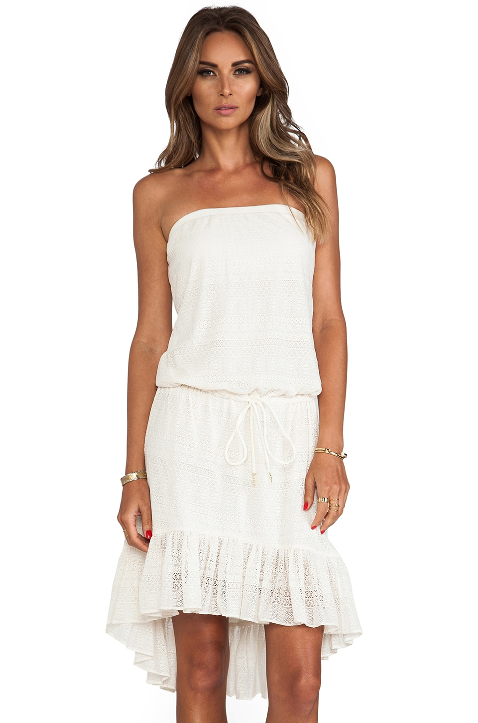 Juicy Couture Prima Donna Cover Up Dress in Angel