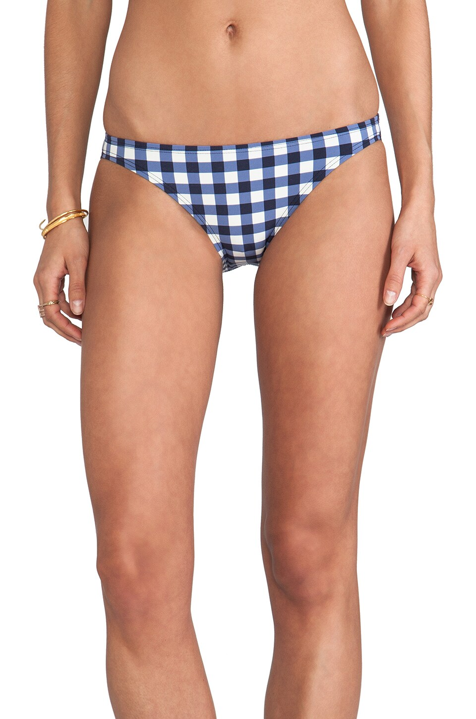 Juicy Couture Gingham Style Classic Bottom in Regal