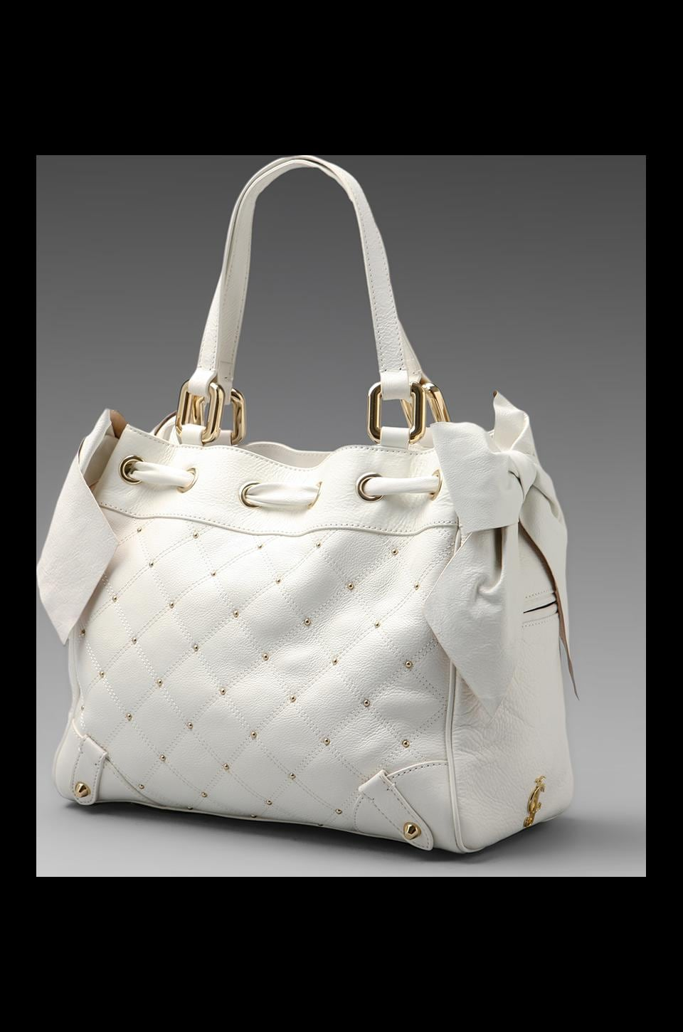 Juicy Couture Frankie Leather Daydreamer in White