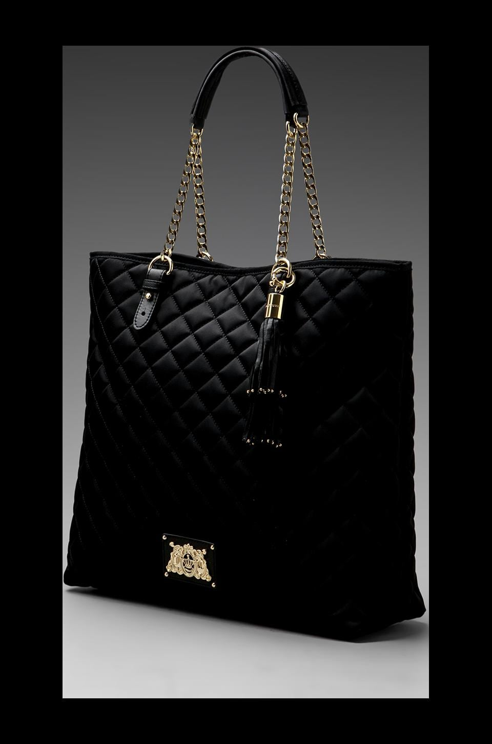 Juicy Couture Easy Everyday Nylon Anja Tote in Black