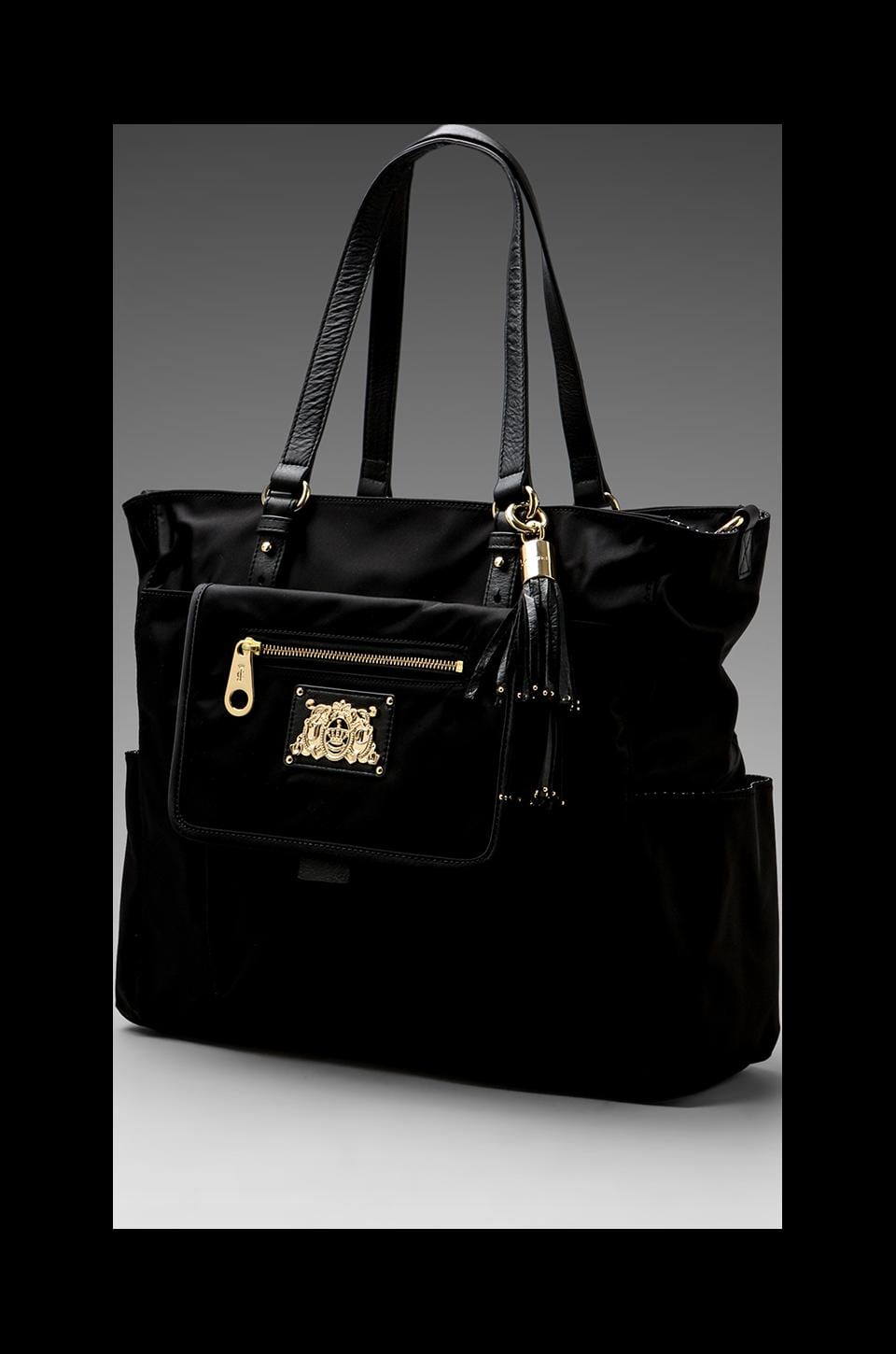 Juicy Couture Easy Everyday Nylon Baby Bag in Black