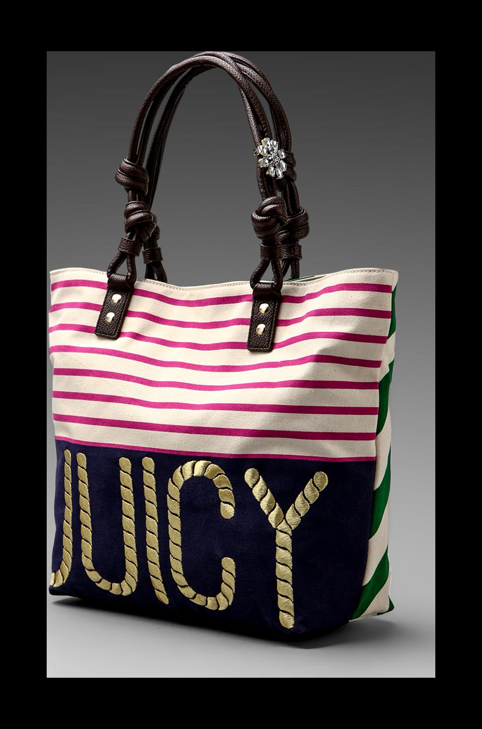 Juicy Couture Sailor Girl Canvas Tote in Multi