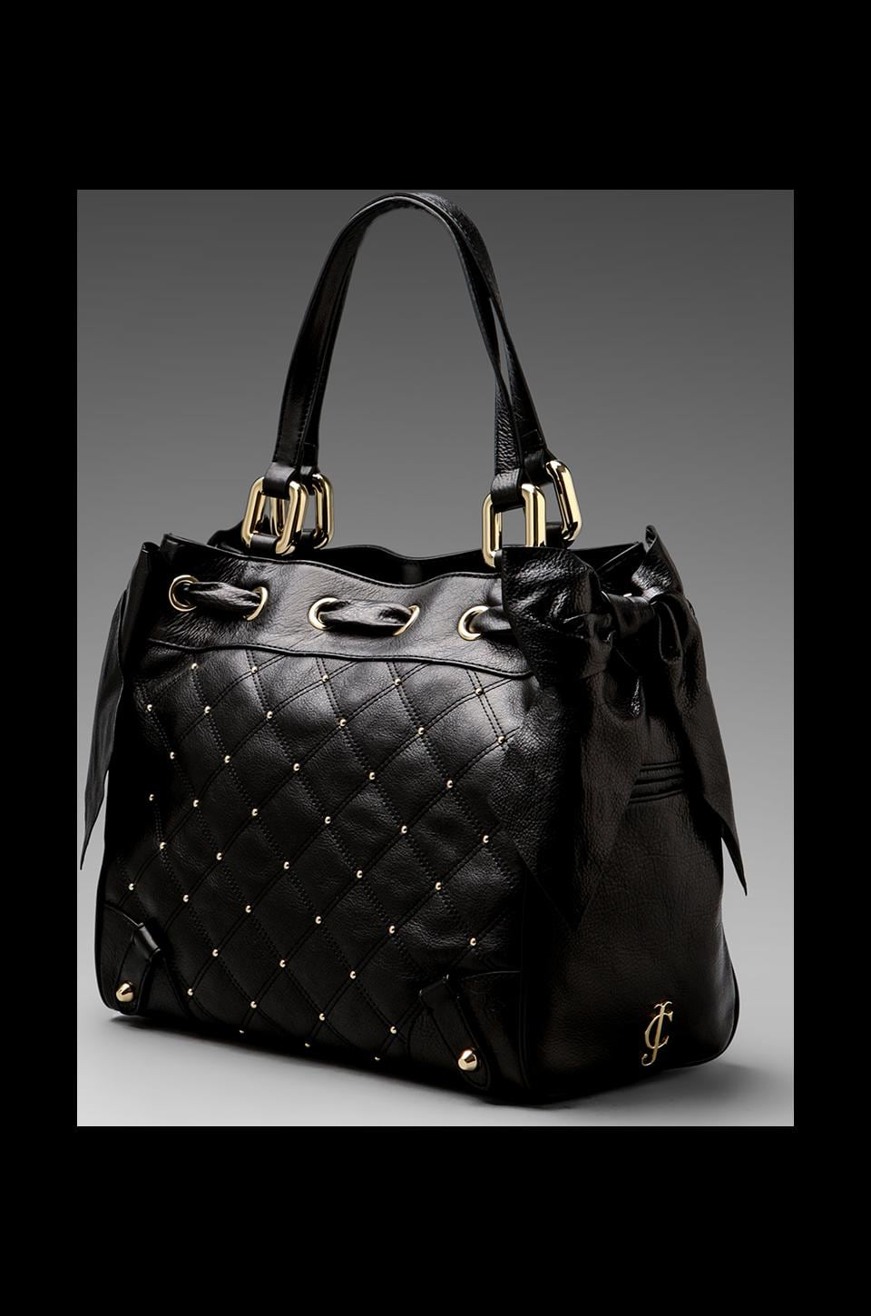 Juicy Couture Frankie Leather Daydreamer in Black