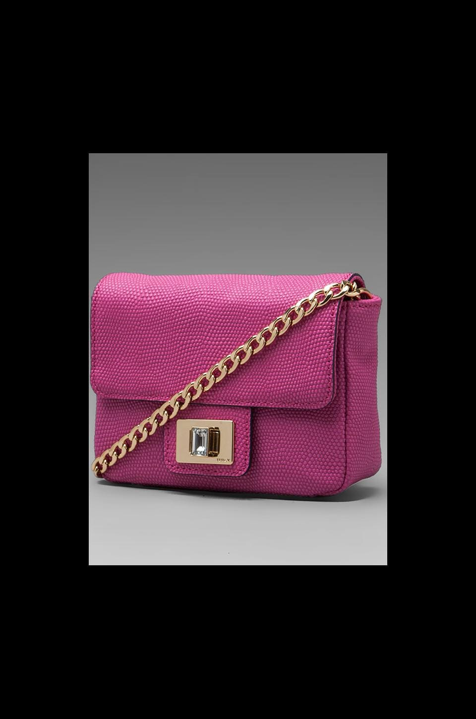Juicy Couture Emblazon Leather Mini G in Pink
