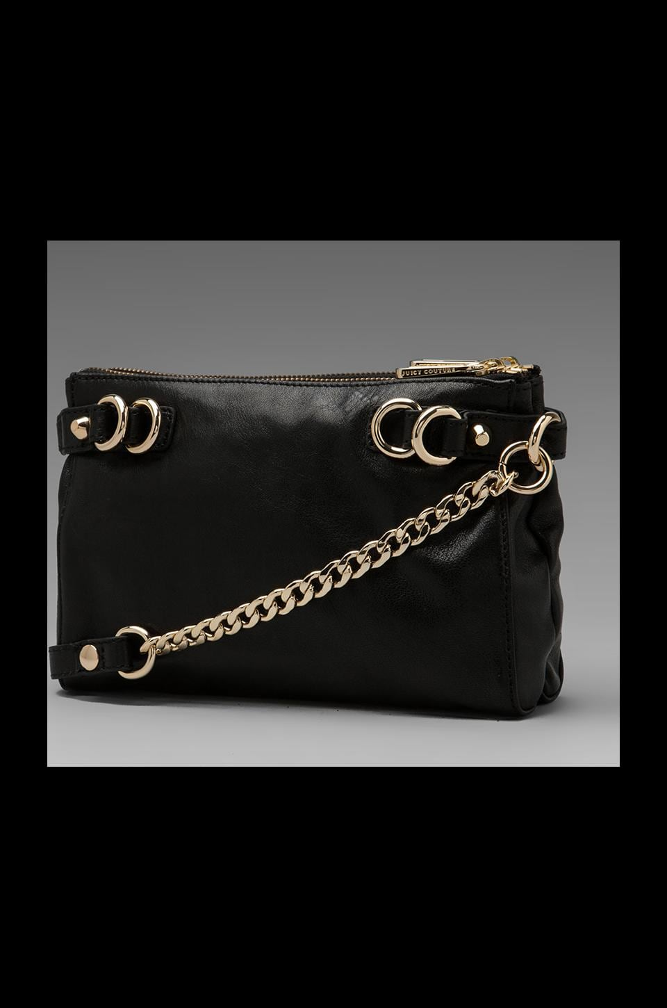 Juicy Couture Dylan Leather Crossbody in Black