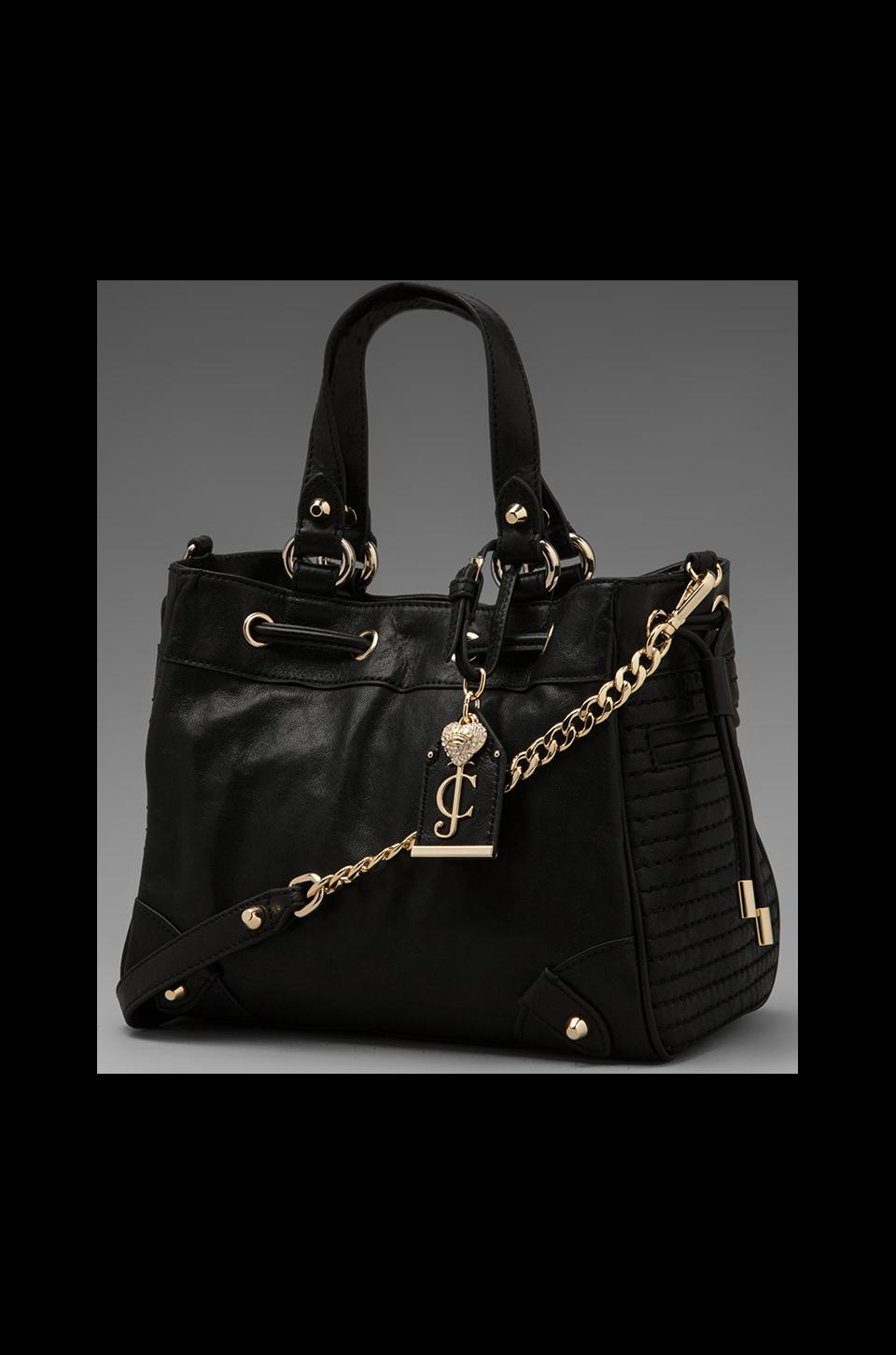 Juicy Couture Dylan Leather Daydreamer in Black