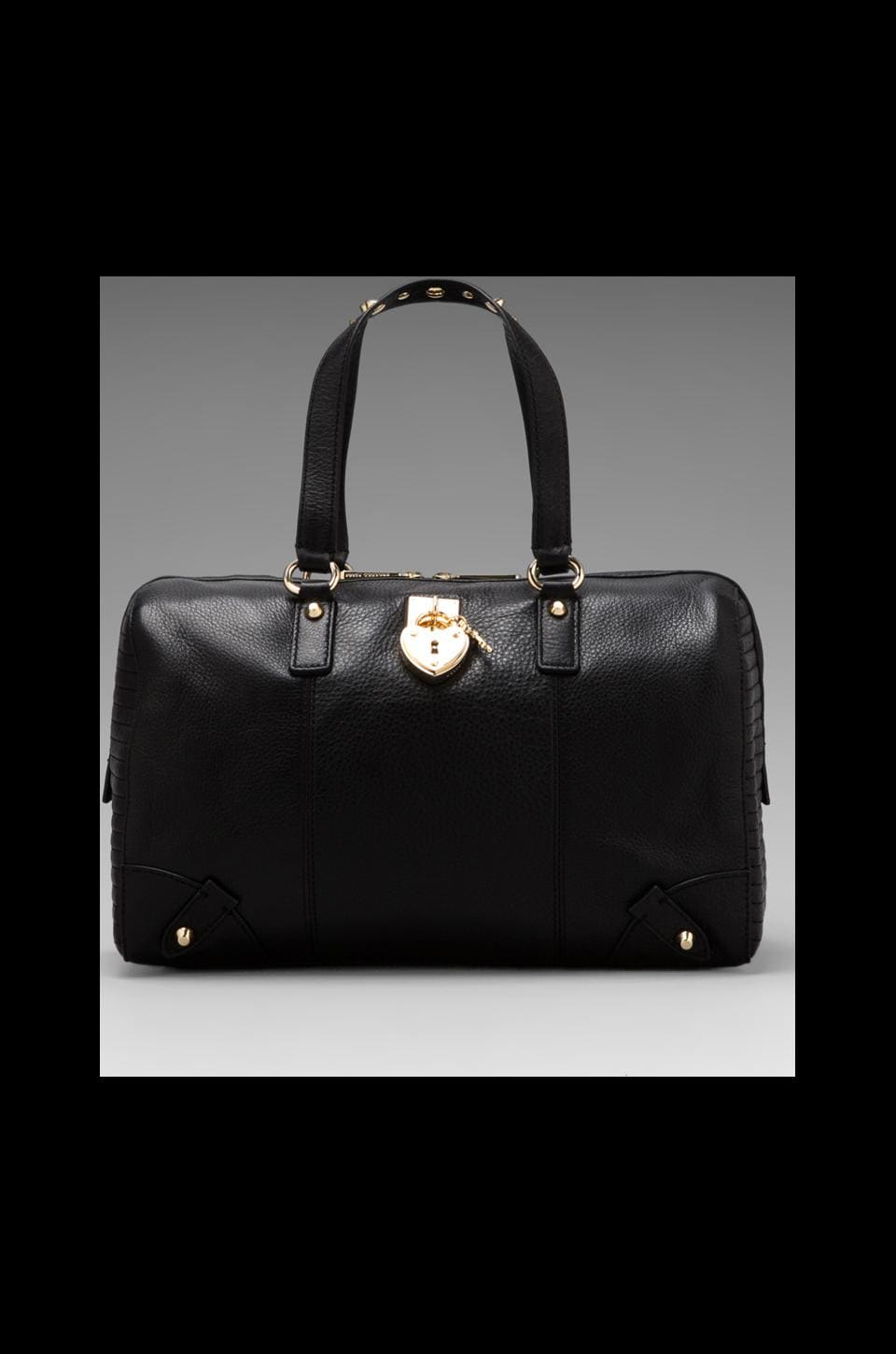 Juicy Couture Signature Leather Steffy in Black