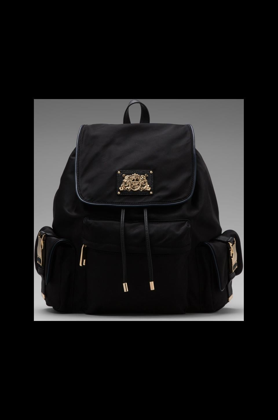 Juicy Couture Penny Nylon Backpack in Black