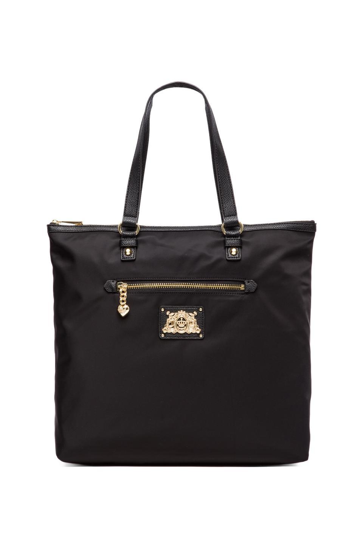 Juicy Couture Malibu Nylon Tote in Black