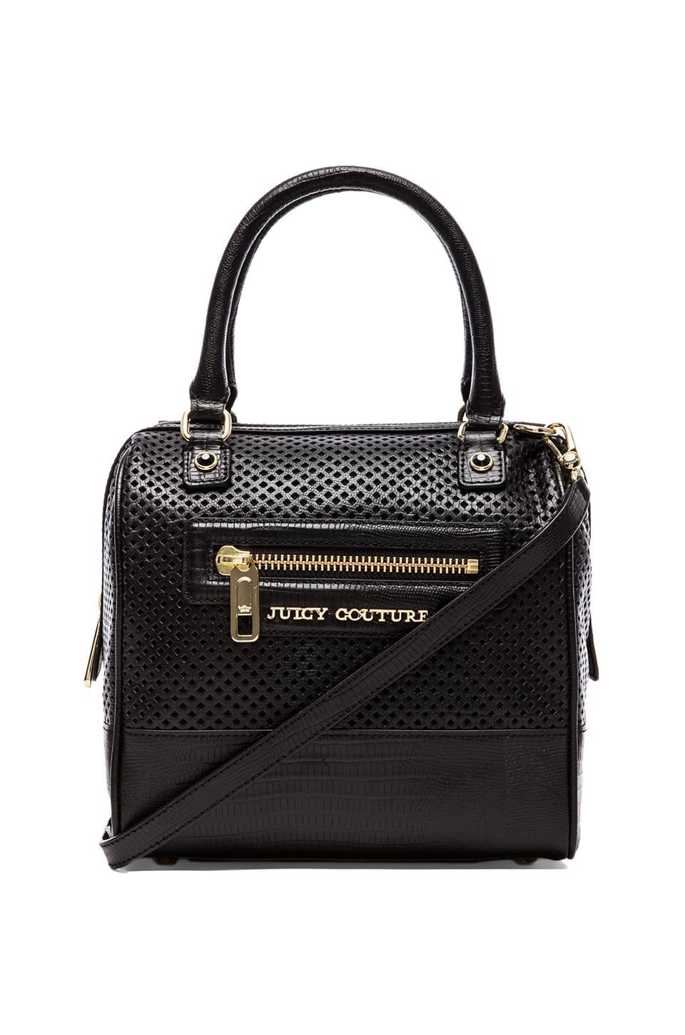 Juicy Couture Sierra Perforated Steffy Cube in Black