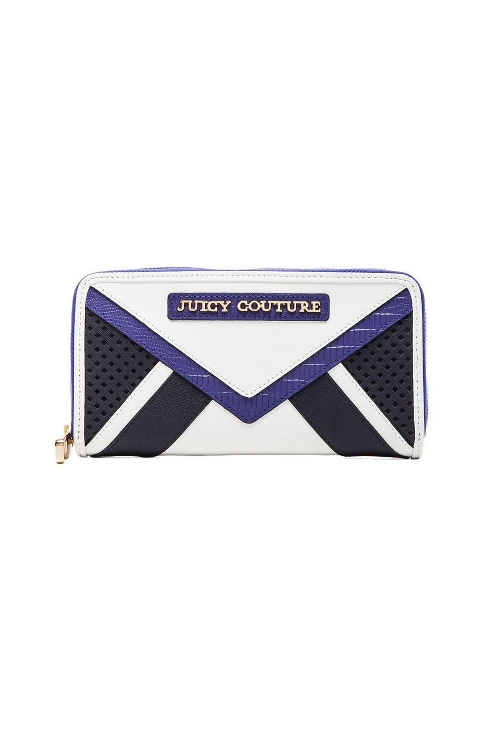 Juicy Couture Sierra Colorblock Zip Continental Wallet in Regal Multi